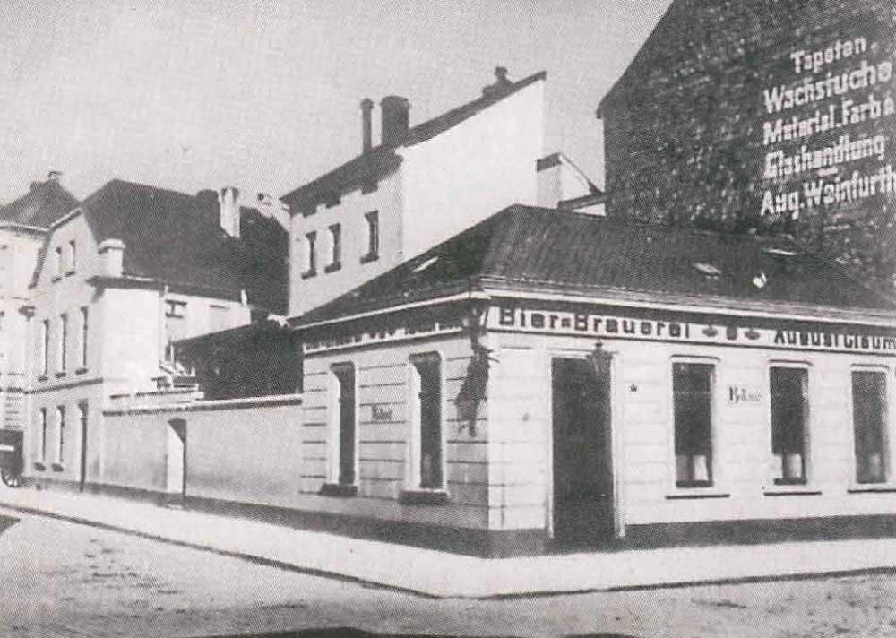 Das Gleumes um 1905